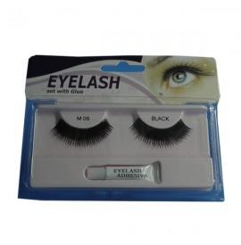 Gene False cu Adeziv- M06-Eyelash set with Glue