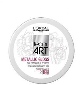 Pasta Modelatoare L'Oreal Professionnel Metallic Gloss, 50 ml