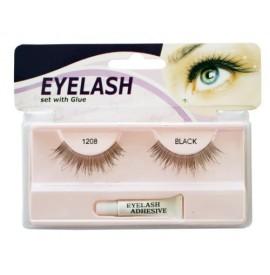 Gene false cu adeziv - 1208- Eyelash se with glue