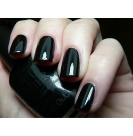 Lac de unghii OPI - NL T02 - EU - LADY IN BLACK - 15 ML