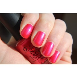 Lac de unghii OPI - NL V12 - CHA - CHING CHERRY - 15 ML