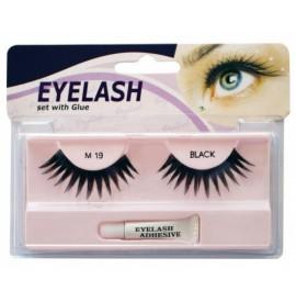Gene false cu adeziv - M19 - Eyelash set with glue