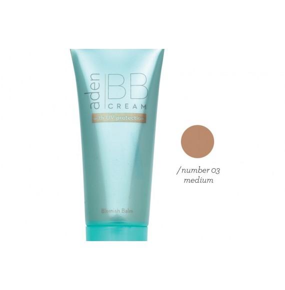 Aden - BB Cream - Medium -03- 40 ml