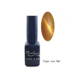 Moonbasa - Gel lac - Tiger eye - Nr. 801 - 5 ml