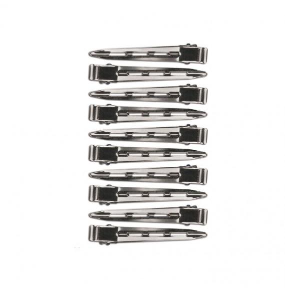 Eurostil - Set cleme metal - 10 buc - Ref: 00095