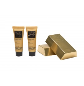 Biotop professional - miniset sampon gold 24k + masca gold 24k - (20ml+20ml)