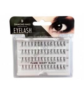 Gene false - short - negru-eyelash -short -black