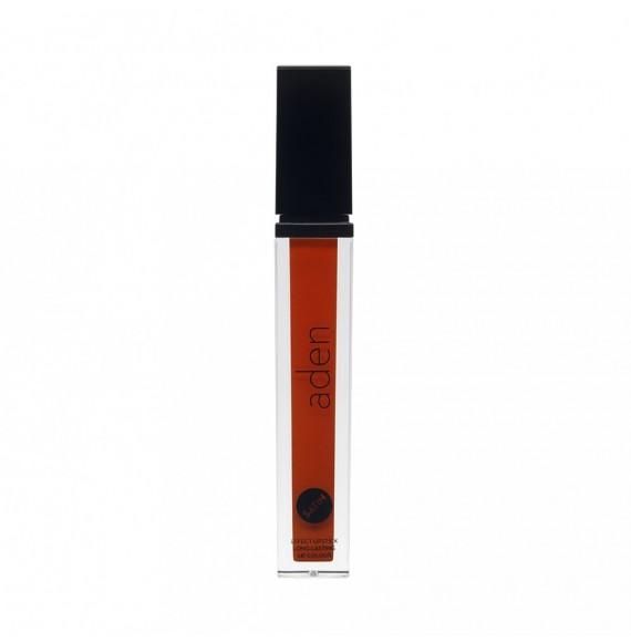 Aden Cosmetics - Ruj lichid - Satin Effect - Vivid Orange - nr. 06
