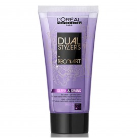 L'Oreal - Dual Sleek&Swing - Crema si gel pentru netezire - 150ml