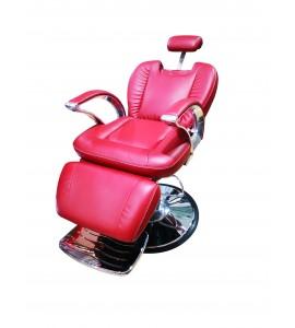 Salonshop - Scaun hidraulic pentru frizerie - Bordo