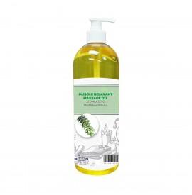 SalonShop - Wellness - Ulei de masaj - Efect calmant - Rozmarin si Camfor -1000 ml