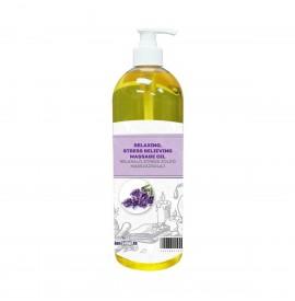 SalonShop - Wellness - Ulei de masaj - Relaxare/Antistres - Levantica si Trandafiri -1000 ml