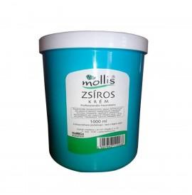 Mollis - Crema grasa pentru masaj - 1000 ml