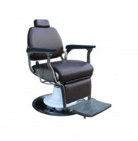 Salonshop - Scaun hidraulic pentru frizerie - Maro