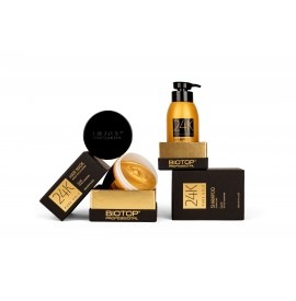 Biotop professional - set sampon gold 24k + masca gold 24k - (330ml+250ml)