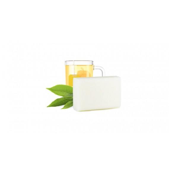 Yamuna - White Tea - Sapun aromaterapie presat la rece cu ceai alb - 110gr