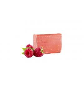 Yamuna - raspberry - sapun aromaterapie presat la rece cu zmeura - 110gr