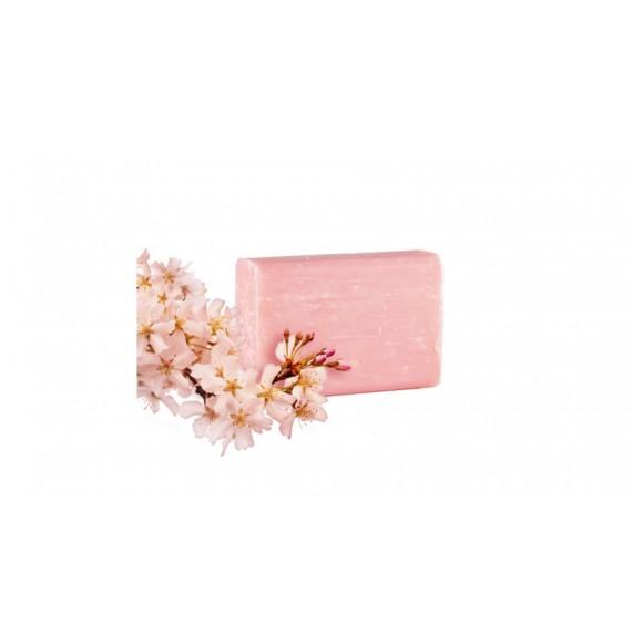 Yamuna - Cherry Blossom - Sapun aromaterapie presat la rece cu flori de cirese - 110gr