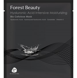 Forest Beauty - Masca bioceluloza intens hidratanta cu acid hialuronic - 30ml