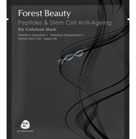 Forest Beauty - Masca bioceluloza anti-ageing cu peptide si celule stem - 30ml