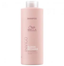 Wella - Invigo - Blonde Recharge - Sampon pentru par blond - 1000ml
