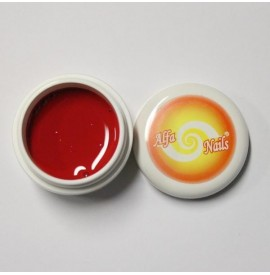 Gel color - nr. 133 - signal red - rosu - 7 gr