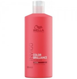 Wella Proffesionals - INVIGO - Color Brilliance Shampoo - Sampon pentru par vopsit cu textura aspra - 500ml