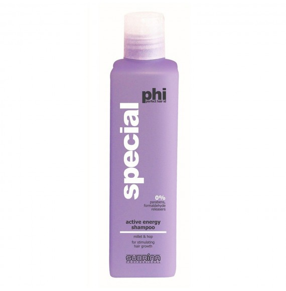 Sampon impotriva caderii excesive a parului - Phi Active Energy Shampoo - 250 ml