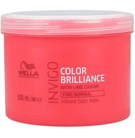 Wella proffesionals - invigo - color brilliance mask - masca pentru par vopsit cu structura fina/normala - 500ml