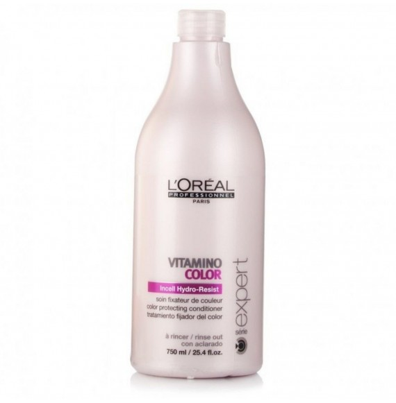 L'Oréal Professionnel Série Expert Vitamino Color balsam hranitor pentru regenerare pentru par vopsit - 750 ml