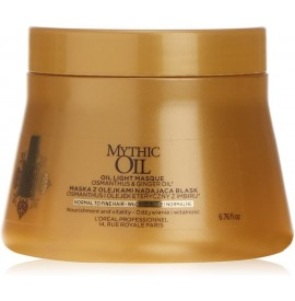 Mythic oil - masca pentru par fin/normal - 200 ml - l'oreal professionel