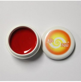 Gel color - nr. 136 - red orange - 7 gr
