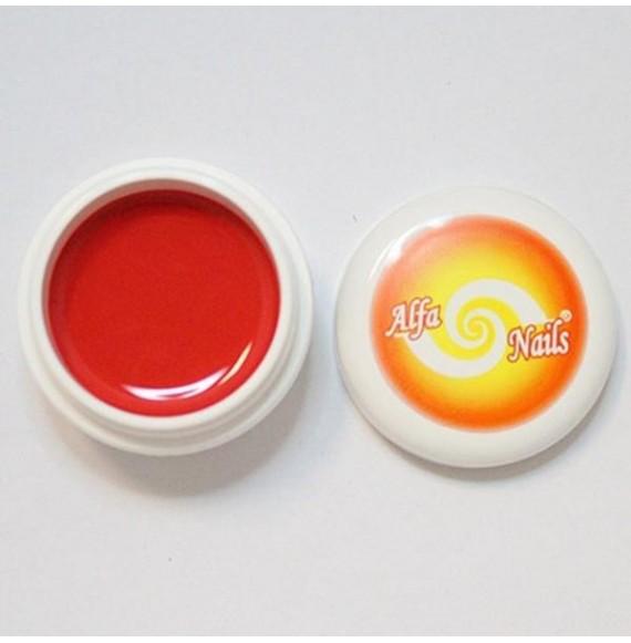 Gel color - Nr.153 - Red - 7 gr