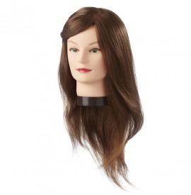 Eurostil - cap de papusa - par natural - 45-50cm - 06624