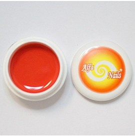 Gel color -nr. 154 - light red orange - 7 gr