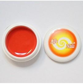 Gel color -Nr. 154 - Light Red Orange - 7 gr