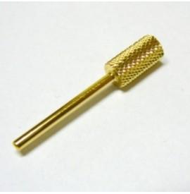 Alfa Nails - Cap carbid/auriu - Mediu
