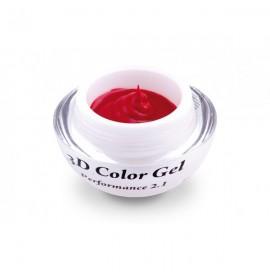 Gel color 3d - rosu - 503-  4g - pearl nails