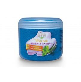 Sare fina de baie pentru picioare - menthol cu eucalipt - 550 ml - pearl nails