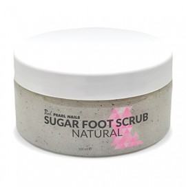 Sugar foot scrub (gomaj pentru picioare) – natural - 300ml - pearl nails