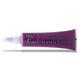 Vopsele acrilice - 115 mov adanc - 9 ml - pearl nails