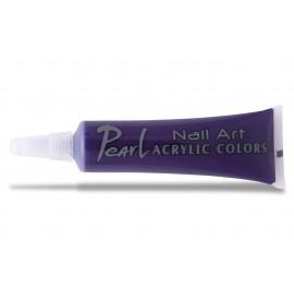 Vopsele Acrilice - 186 Violet episcopal - 9 ml - Pearl Nails