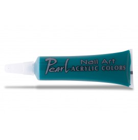 Vopsele acrilice - 317 verde - 9 ml - pearl nails