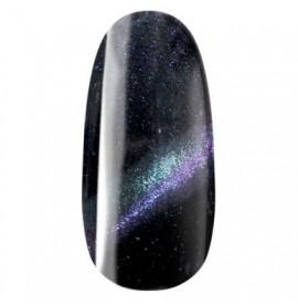 Ojă semipermanentă Galaxy Cat Eye Effect 706 - PURPLE GREEN - Pearl Nails