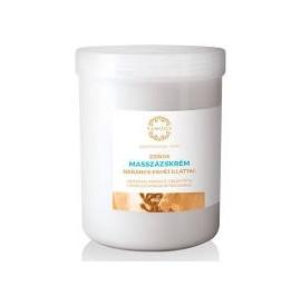 Cremă pentru masaj grasă cu portocale si scorțișoară - 1000 ml