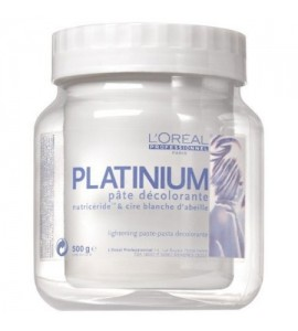 Platinum plus blondier - pasta decoloranta fara amoniac - 500 gr - loreal professional