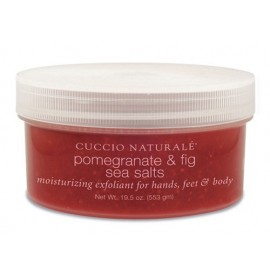 Pomegranate & fig sea salts - Cuccio - 553 gr