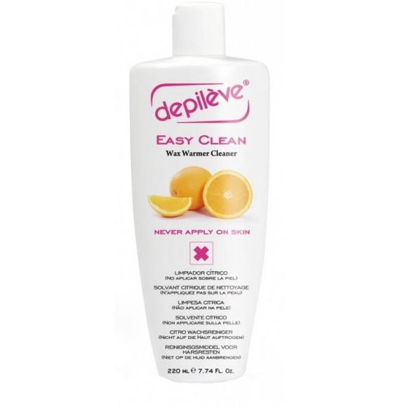 Ulei pentru curăţat aparat de depilat - Depileve - Easy Clean - Wax warmer cleaner