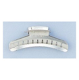 Eurostil - Clame de par aluminiu tip fluture 6 buc. - 00800