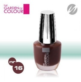 Lac de unghii - nr.16 - Ciocolata - Milk chocolate - The garden of color
